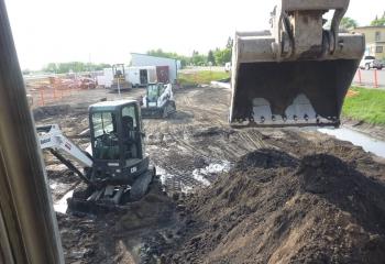 Site work for Gasbar